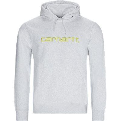 Hooded C sweatshirt Regular | Hooded C sweatshirt | Grå